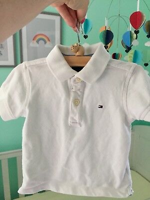 tommy hilfiger baby boy Polo Shirt Size 80 Roughly 6-9months