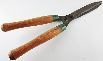 Vintage Belknap Special Large Hedge Grass Shears Clippers Pruning Trimmers Tool
