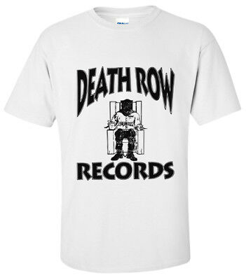 Death Row Records Hip Hop T-Shirt Small Medium Large Xl
