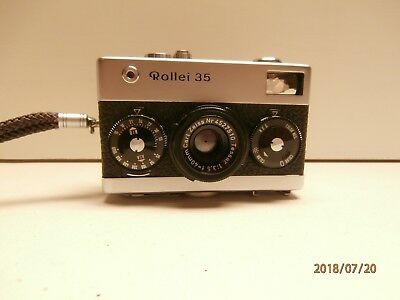 Rollei 35 Camera w/Zeiss tessar F/3.5 lens 40mm from Germany