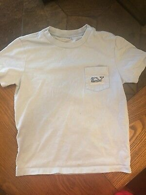 Kids Vineyard Vines T Shirt Size 7 Blue