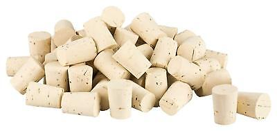 100 tapered corks conical cork, bung stopper | length = 24 mm, ⌀ = 15-19 mm for