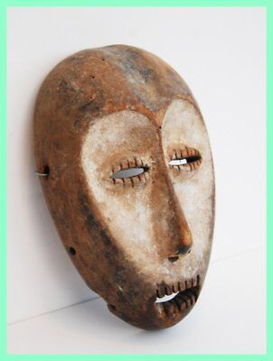 TEETHING COOGAR - Bwami Mask by the Lega Tribe of Congo. Zaire, West Africa