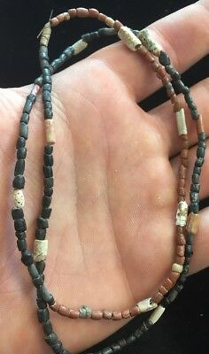 Native American Indian Trade Bead Necklace Found In Western US G69