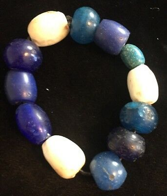 Native American Indian Glass Trade Beads G74