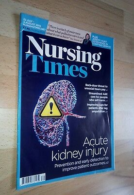 Nursing Times - 22 July - 4 August 2015