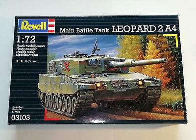 Model Revell 03103 1:72 Main Battle LEOPARD 2 A4 NEU OVP Modelbausatz