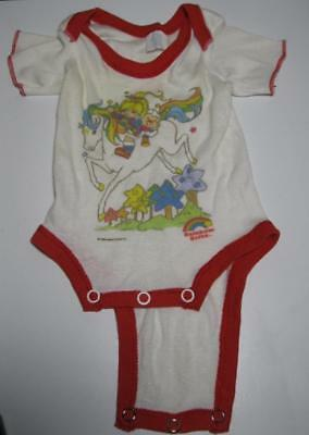 VINTAGE RAINBOW BRITE BRIGHT '80S CURITY BABY 1-piece suit-NEWBORN-cabbage patch