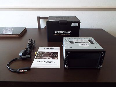 Xtrons  Double Din In Car Entertainment System Great Unused Condition