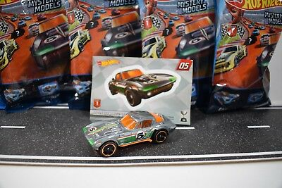 2018 Hot Wheels Mystery Models Mix 1 *CHASE* CORVETTE GRAND SPORT #5 *Sealed*