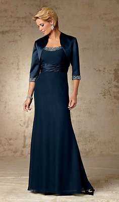 Caterina Collection  Jordan Chiffon Mother of the Bride Dress 5005 chocolate 6