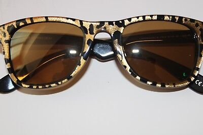 b0559188c5 Carrera by Jimmy Choo Gold on Brown Sunglasses Carrera 6000 jc 3tbvb