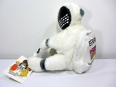 Expo 1986 Mascot Ernie Space Man Kids Plush Backpack Vancouver Canada New