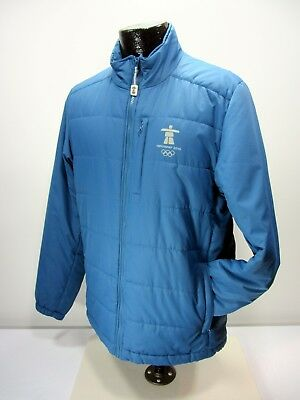 Elevate Vancouver 2010 Canada Olympic Paralympic Men's M Blue Light Jacket