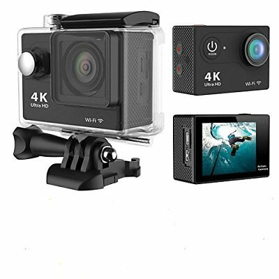 4K WIFI Sports Action Camera Ultra HD Waterproof DV Camcorder 12MP MST CAM-60