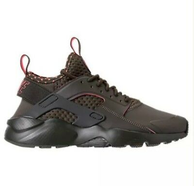 d60a625b14b3a Nike Air Huarache Run Ultra SE Cargo Khaki Crimson Shoes (875841 301) -