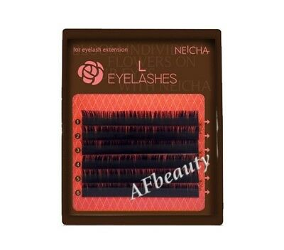 L-curl NEICHA Lashes Mini tray 6rows Mixed sizes SPECIAL Edition
