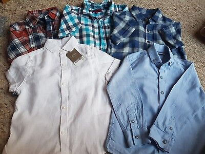 boys next shirts one BNWT all 3-4 years all in excellent condition