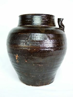 Antique Southeast Asian (Anamese) Storage Jar/Wine Jug with Spout