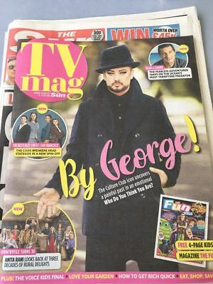 SUN TV Magazine July 2018 BOY GEORGE Culture Club PHOTO INTERVIEW