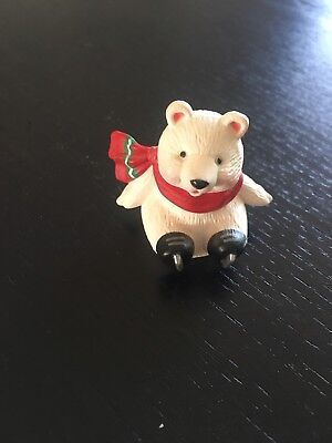 Vintage Hallmark Merry Miniature Bear