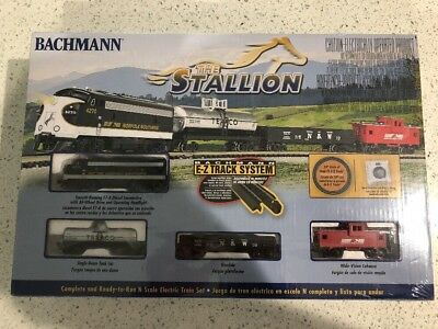 Bachmann 24025 Stallion N Scale Electric Train Set RTR