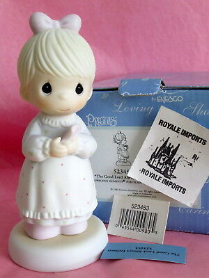 Precious Moments The Good Lord Always Delivers 523453 Expectant Mother New Box