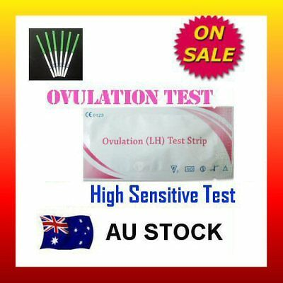 Ovulation Test Strips (LH) Urine Fertility Kit OPK High Sensitive FREE POSTAGE
