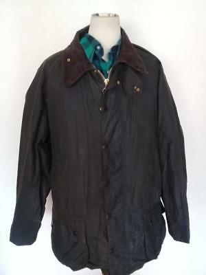 BARBOUR Beaufort WAXED Jacket Green Size 50