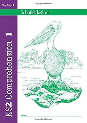 KS2 Comprehension Book 1: Year 3 Ages 7-8 by Schofield & Sims New Paperback Book