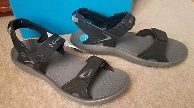 534426df99c8 New Columbia Mens Techsun Sports Sandal Black Titanium mhw 1718451010 Sz 12