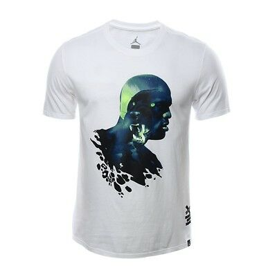 0a525a81801 $40 Men's Air Jordan Aj Retro 13 Black Cat Tee T-Shirt White 3Xl 833952