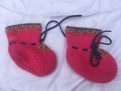 Chaussettes bebe CATIMINI - Maille -rose Fille