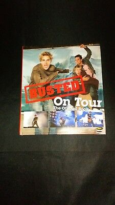 Busted On Tour The Official Book Retro Pop Music Hardback (2004) Near Mint