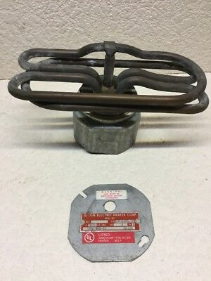 GLENN ELECTRIC  IMMERSION WATER HEATER 362 P 208Volts. Brand New  Pn 10-8345-16.
