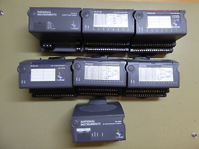 National Instrument FieldPoint FP-1000, AI-110, DO-401, DI-301, RLY-40, TC-120