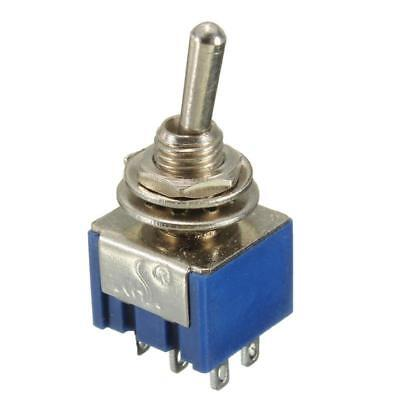 6 Pin 6mm Miniature Toggle Switch DPDT ON-ON 6A 125V High Quality 1,2,3,5,10