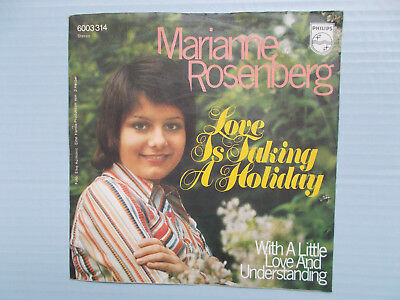 """Marianne Rosenberg - Love Is Taking A Holiday (RARE 7"""" Single,1972, Z= sehr gut)"""