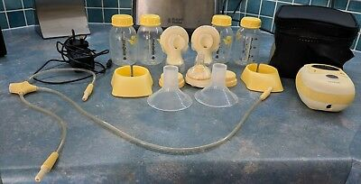 Medela freestyle double electric 2-phase breast pump with Calma