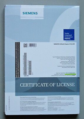 Siemens Simatic Software WinCC Basic V14 SP1 TIA PORTAL incl. Floating License