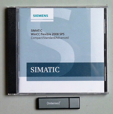Siemens Simatic Software WinCC flexible 2008 SP5 Advanced incl. Floating License