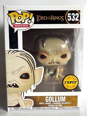 FUNKO POP Figurine lord of ring POP N° 532 - GOLLUM limited CHASE EDITION