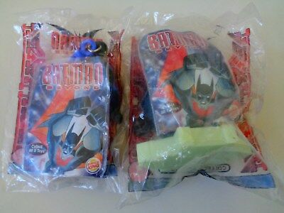 Burger King (2) Batman Beyond 1-  4 - Meal Toys