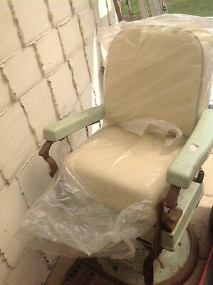 Antique Koken dentist chair For Spares Or Repair
