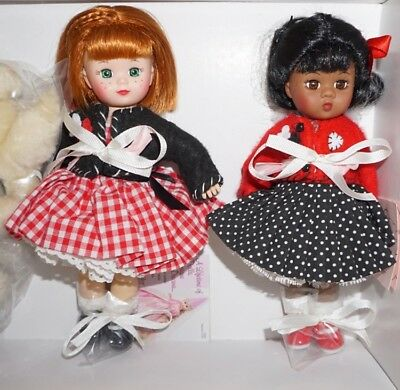 MADC 2005 FALL FRIENDSHIP LUNCHEON SET ~2 Dolls w/Dogs~ Madame Alexander ~NEW