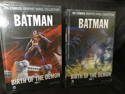 DC COMICS GRAPHIC NOVEL COLLECTION BATMAN BIRTH OF THE DEMON PTS 1 & 2 Sealed