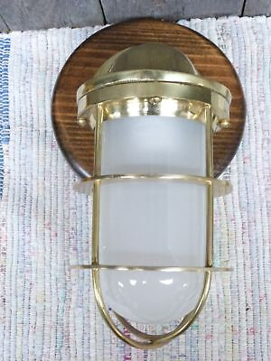 Brass Nautical Maritime Ships Decor Wall Light Lamp - for Dry Locations
