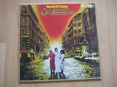 "Supermax - ""World Of Today"" Blue Vinyl"