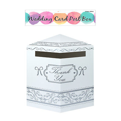 Wedding Card Collection Box Thank You Post Mail Postbox Decoration Accessories