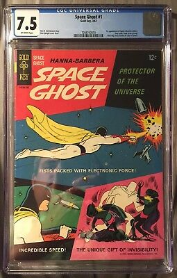 Space Ghost 1 Gold Key CGC 7.5 First Appearance No Reserve